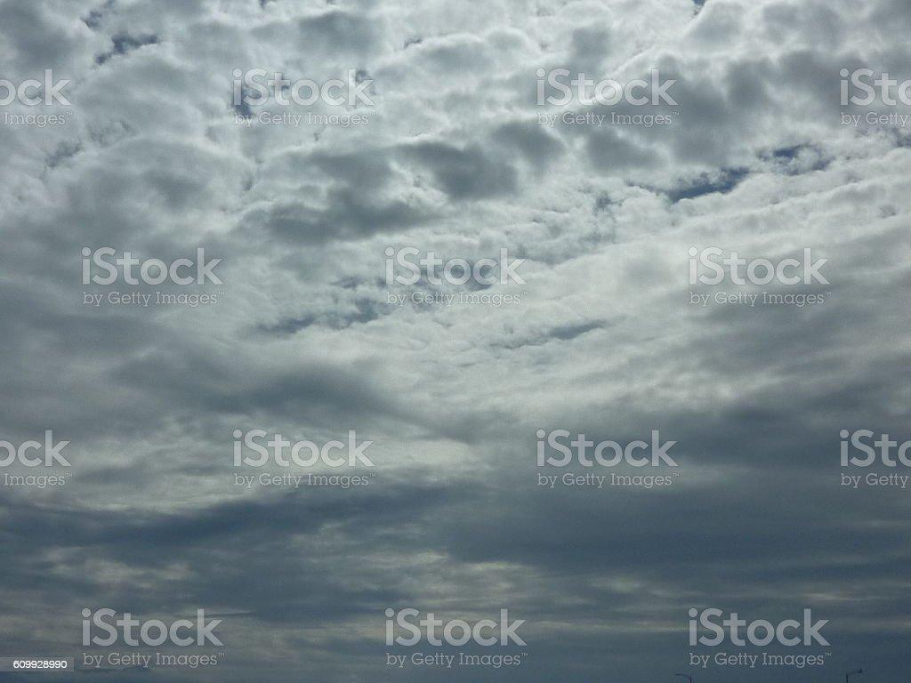 cloudy skys stock photo