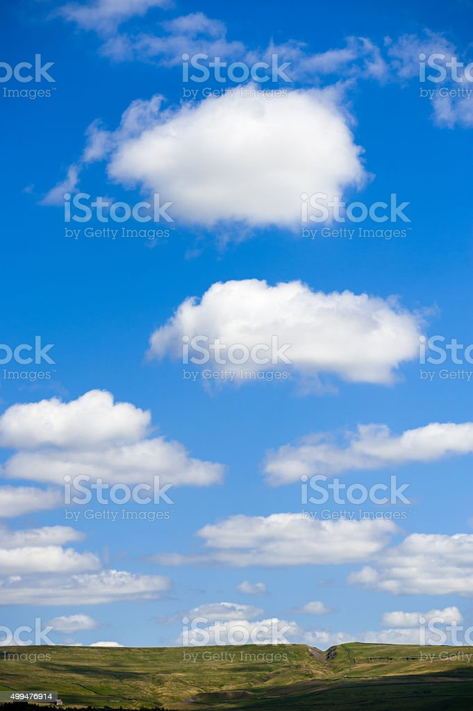 Cloudy Summerday stock photo