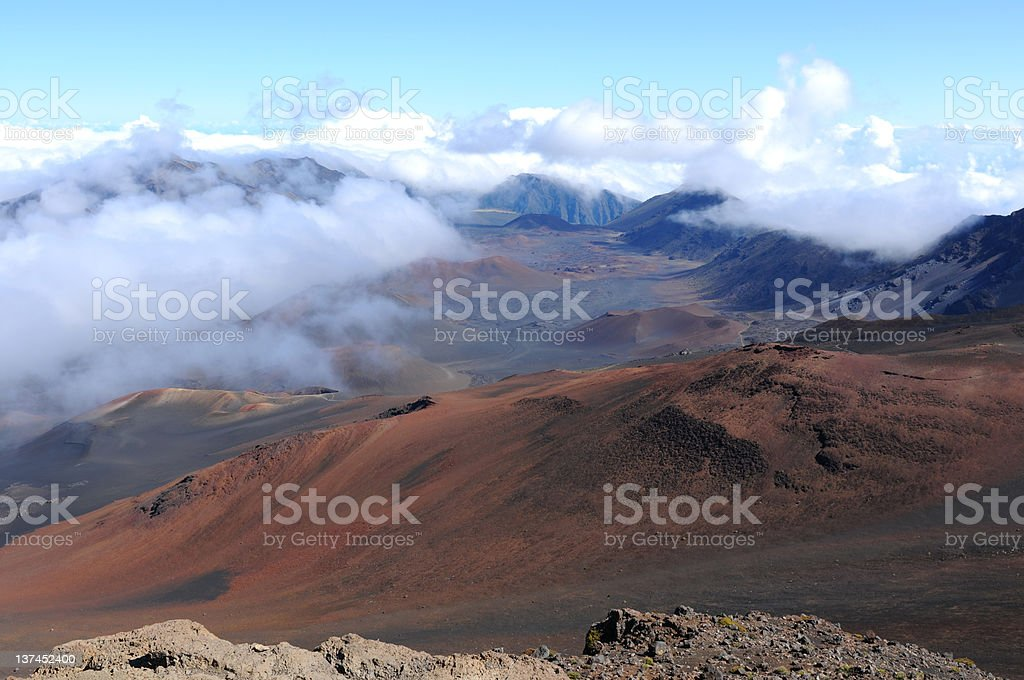 Cloudy Summit royalty-free stock photo