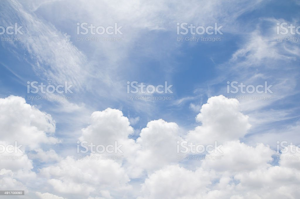 cloudy with sky stock photo