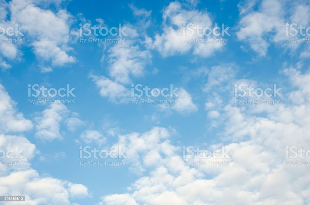 Clound with bule sky royalty-free stock photo