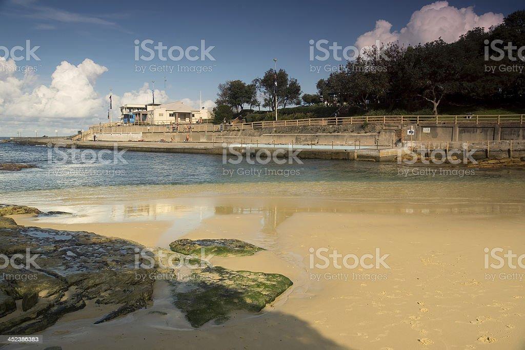 Clovelly Beach royalty-free stock photo