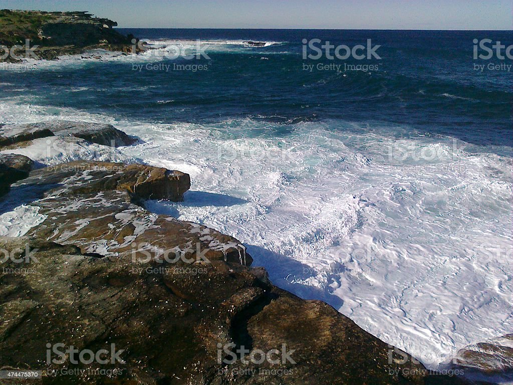 NSW Clovelly playa de Sydney, Australia foto de stock libre de derechos