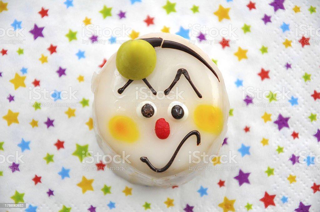Clown Cake royalty-free stock photo