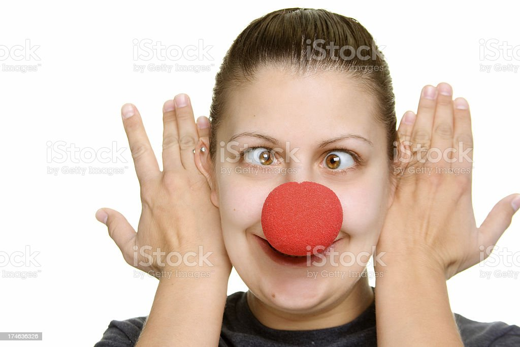 Clown Nose royalty-free stock photo