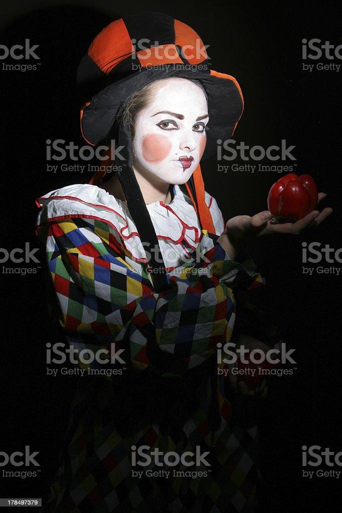 clown royalty-free stock photo