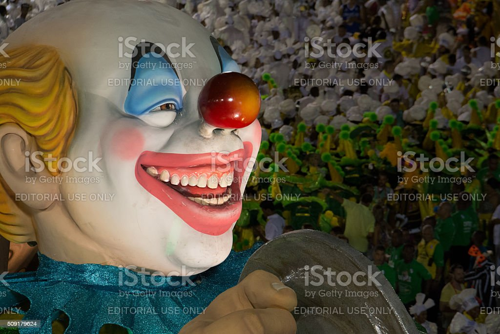 Clown puppet royalty-free stock photo