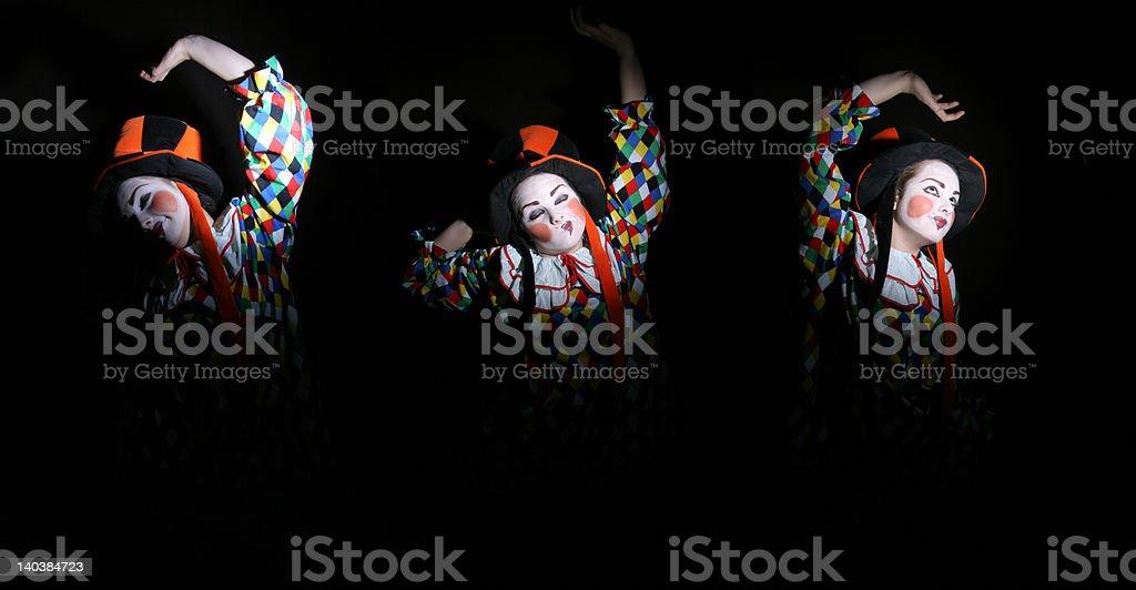 clowns royalty-free stock photo