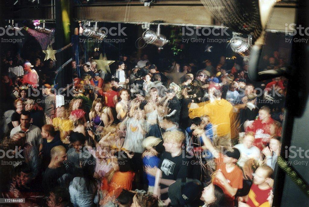 club crowd shot 004 royalty-free stock photo
