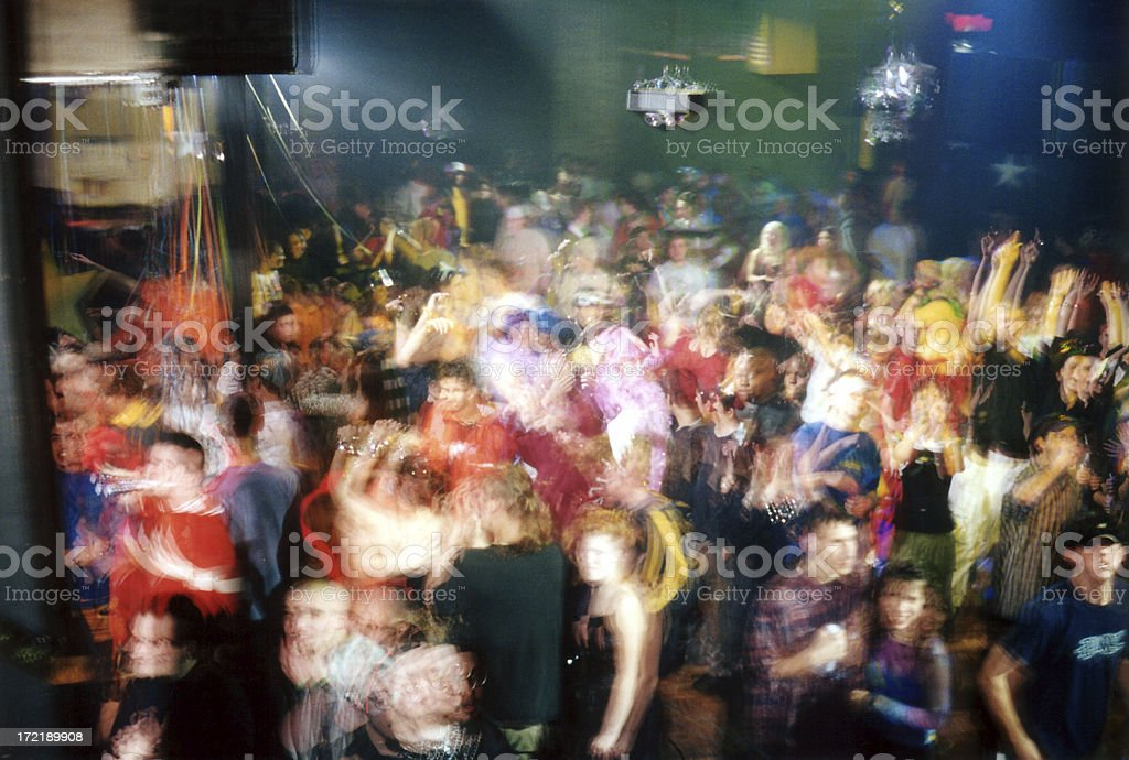 club crowd shot 005 royalty-free stock photo