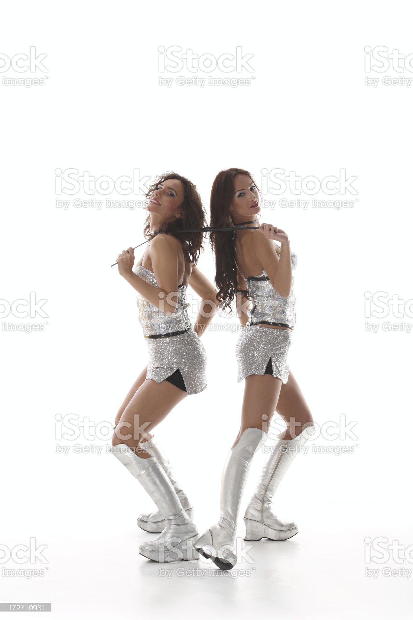 Club Dancers royalty-free stock photo