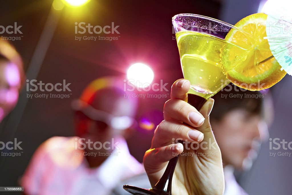 Club drink royalty-free stock photo