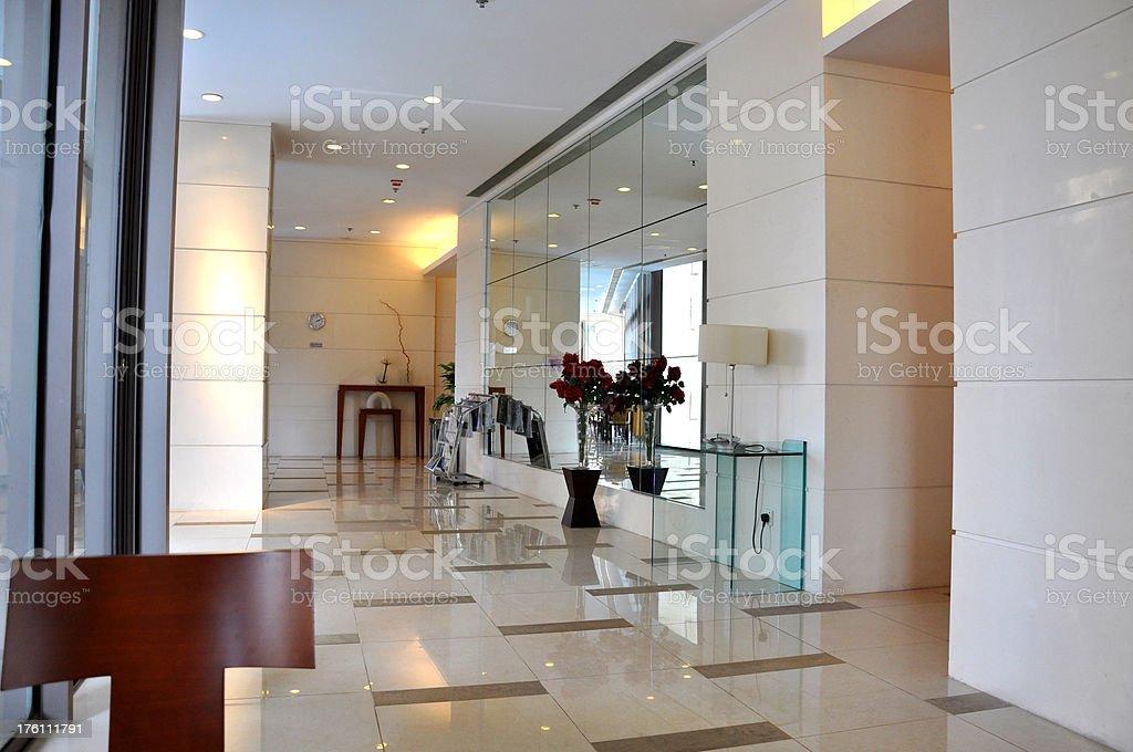 Club House Lobby stock photo