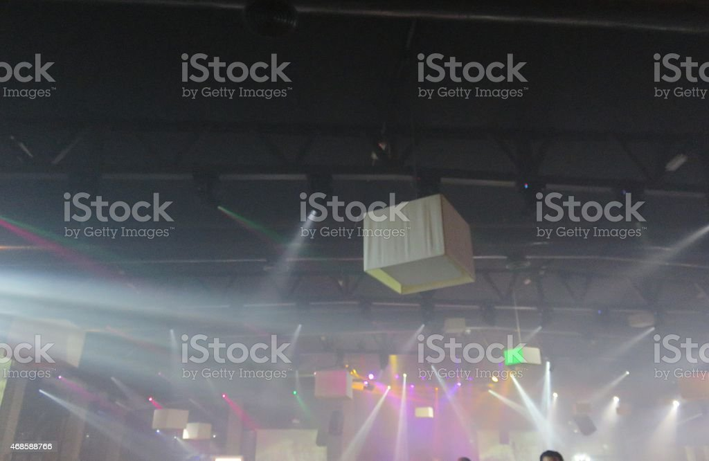 Club Lights stock photo