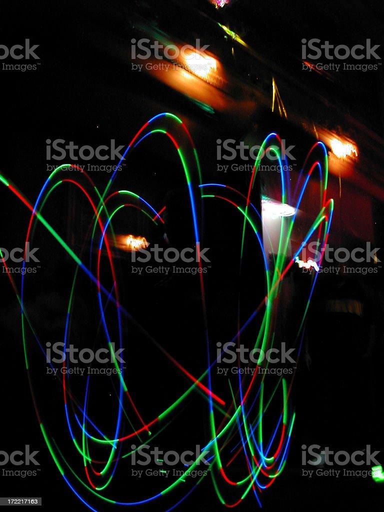 club lightshow 02 royalty-free stock photo