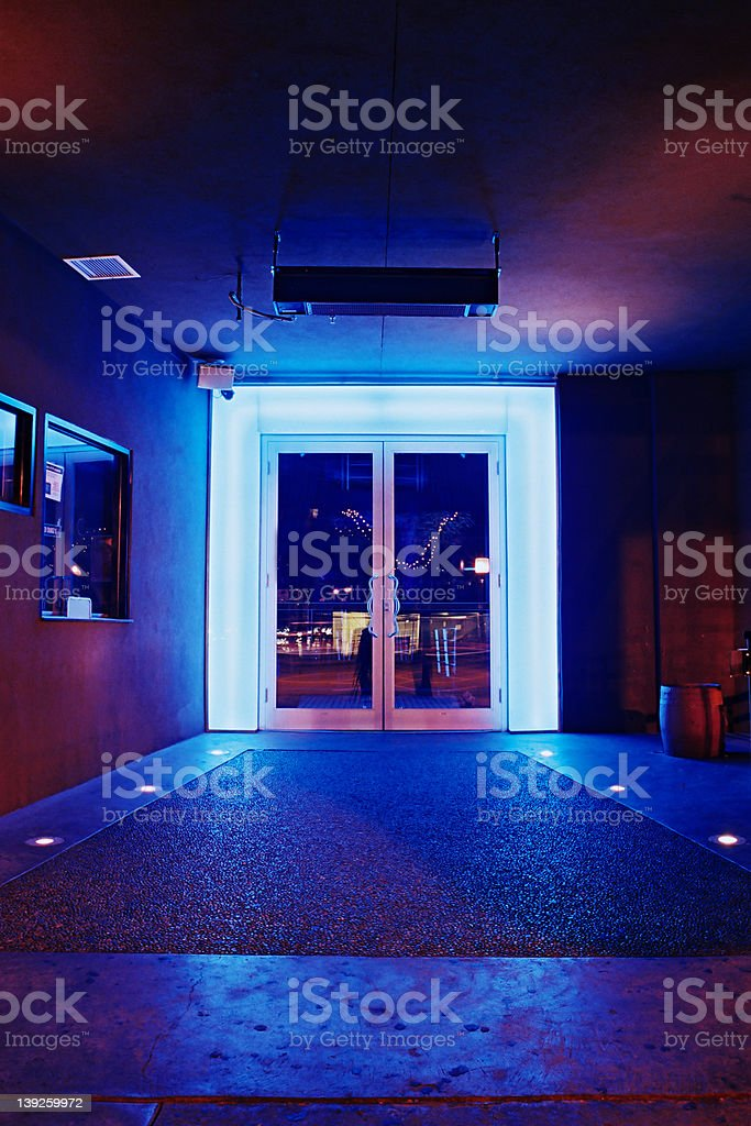 Club Neon stock photo
