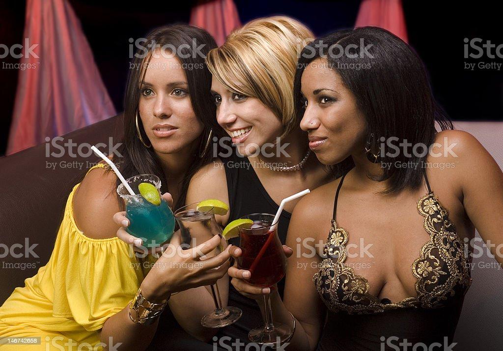 Club night royalty-free stock photo