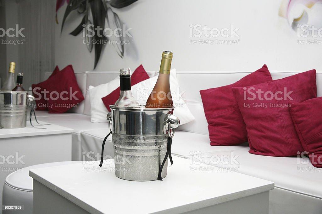 Club Wine Bucket royalty-free stock photo
