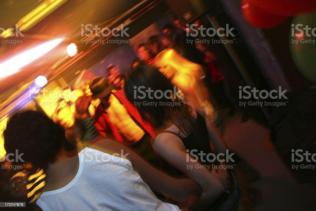 Clubbing royalty-free stock photo