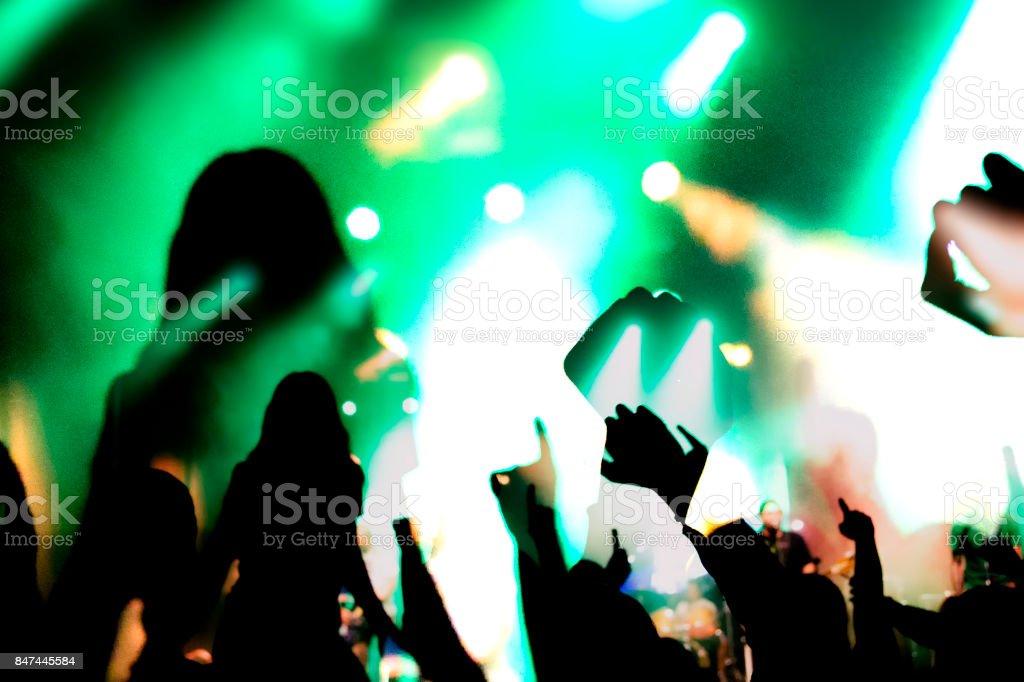 clubbing stock photo