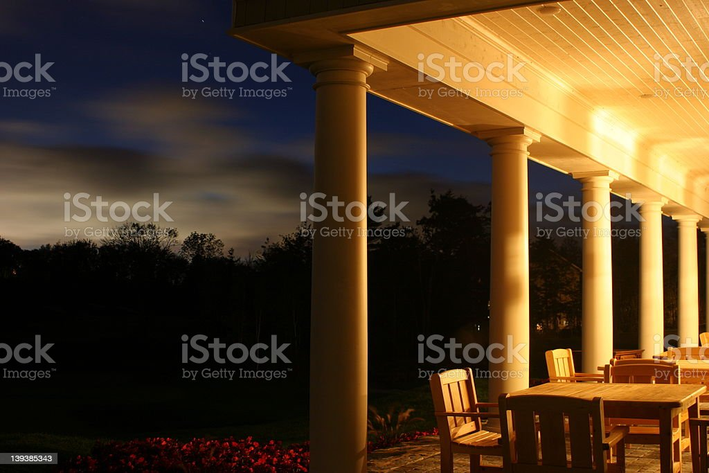Clubhouse at the Links royalty-free stock photo