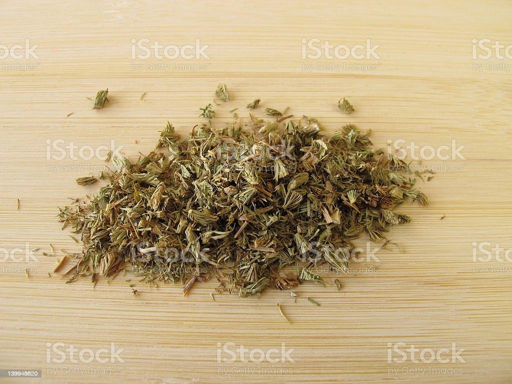 Clubmoss, Lycopodii herba stock photo
