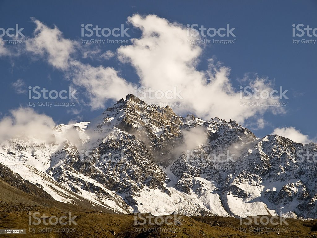 Cludy Peak stock photo