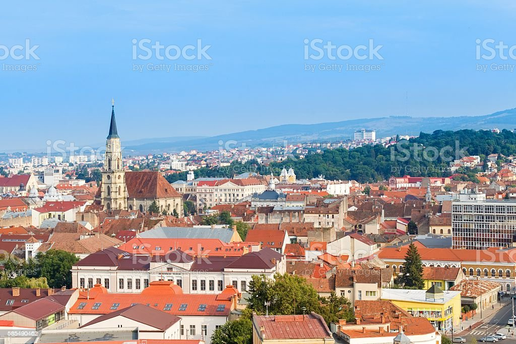 Cluj Napoca stock photo
