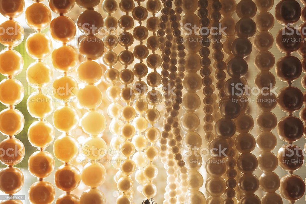 Clutch of Sunbathing Pearls stock photo