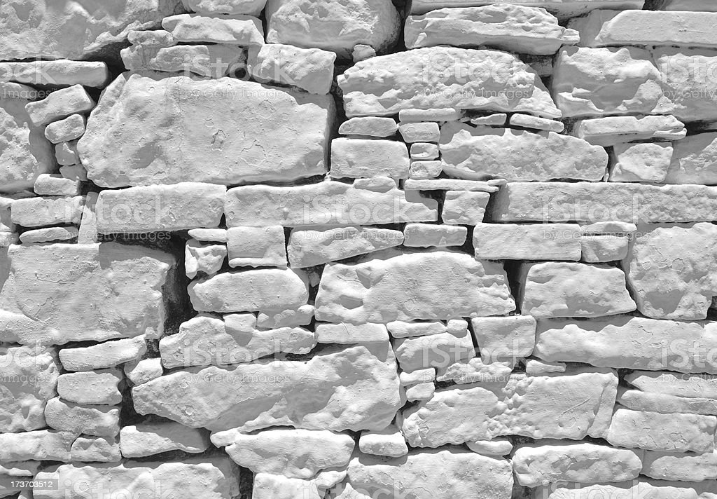 clutch of white stone royalty-free stock photo