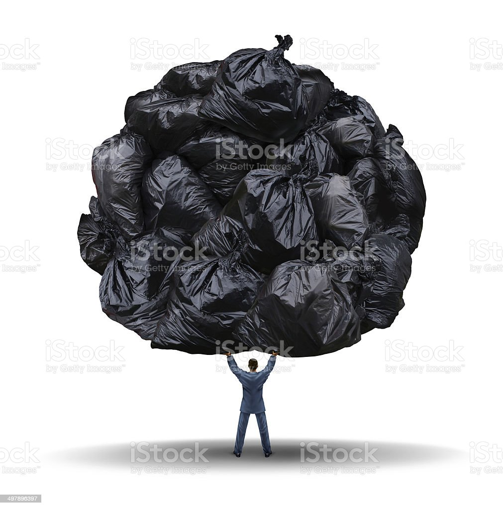 Clutter Management stock photo