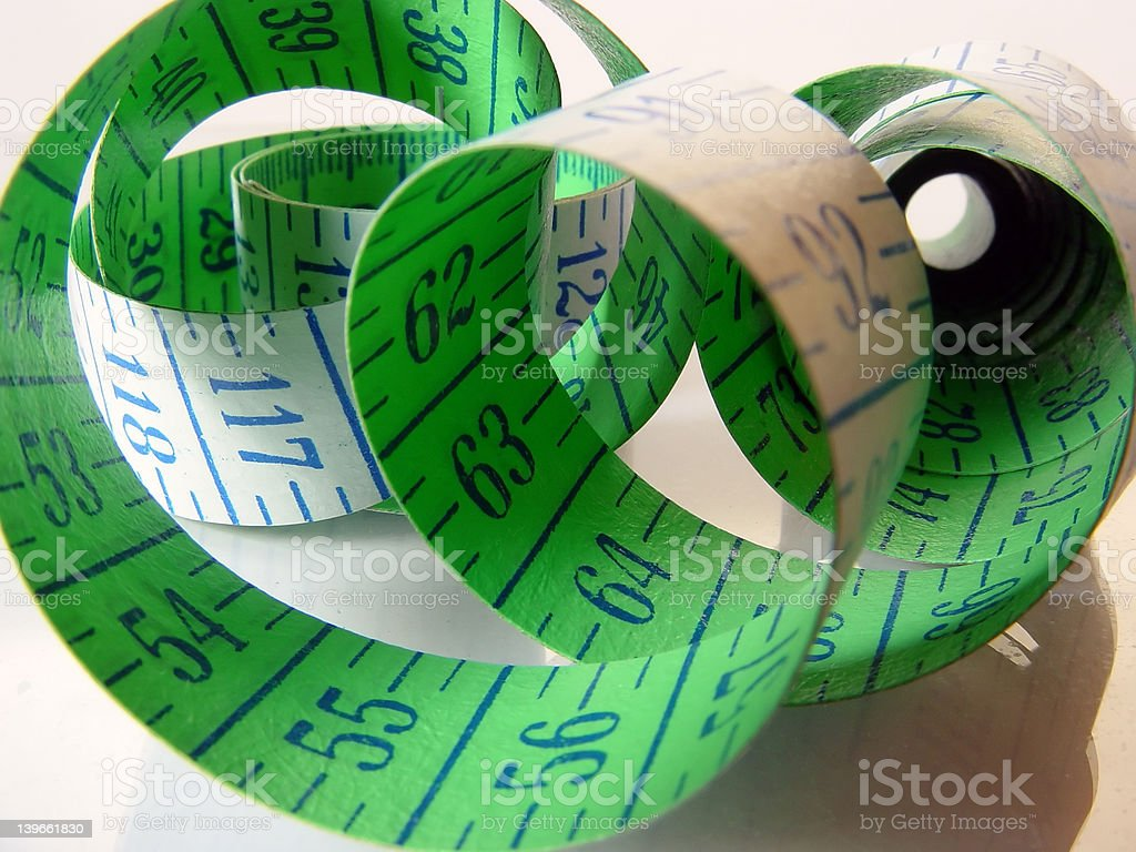 cm Tape 1 stock photo