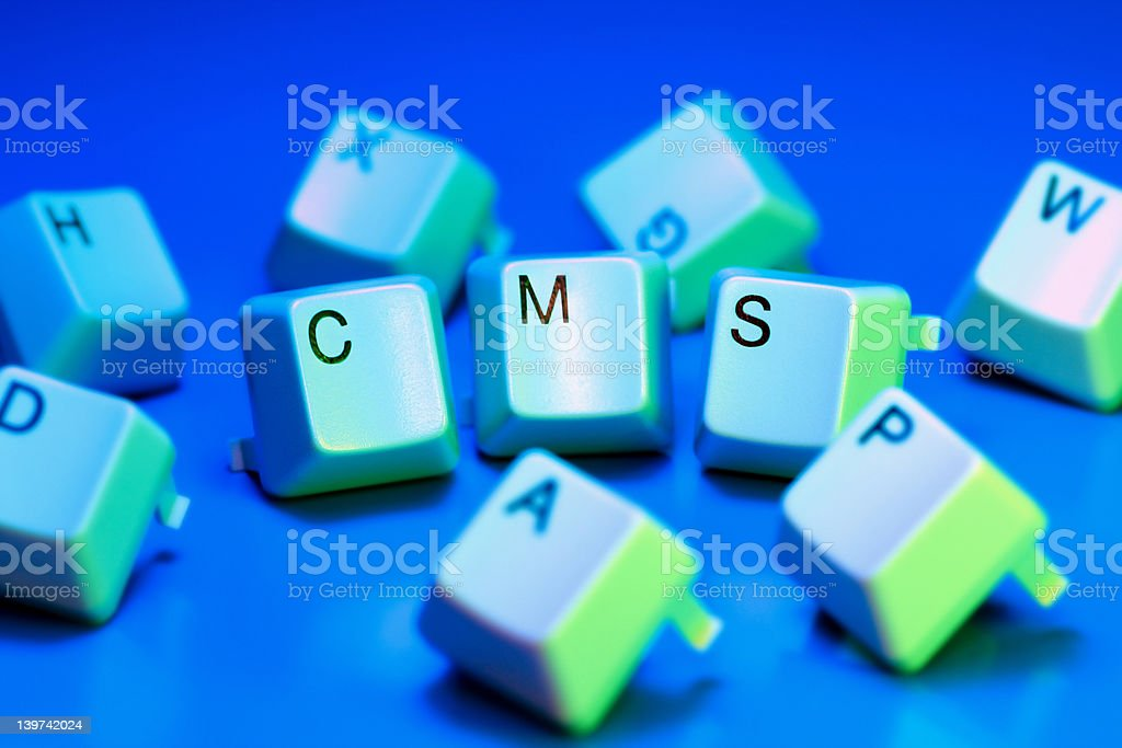 cms royalty-free stock photo