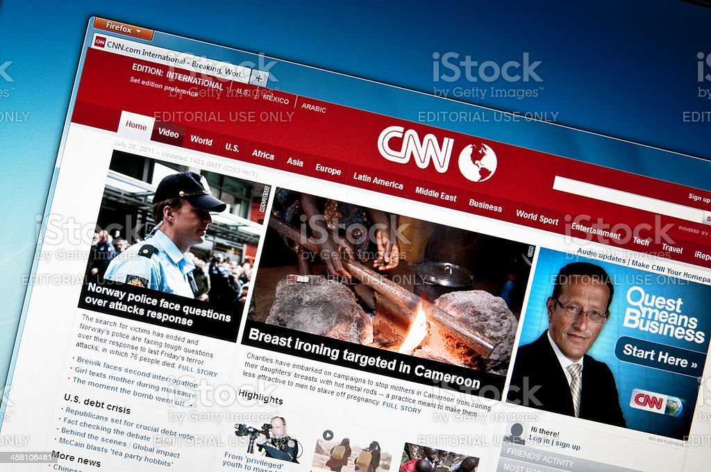 CNN.com stock photo