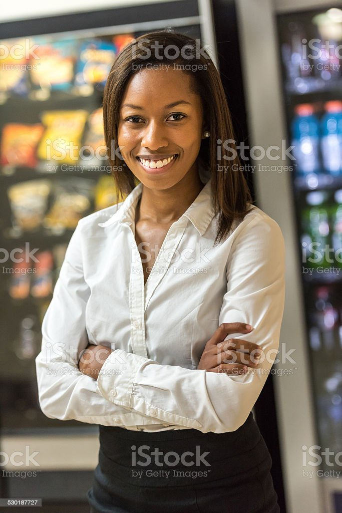 Co worker stock photo