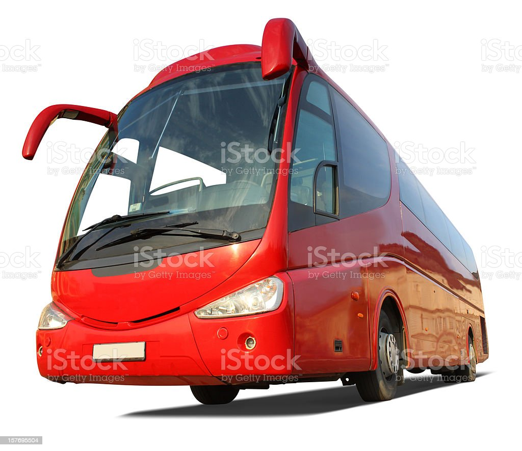 Coach bus royalty-free stock photo