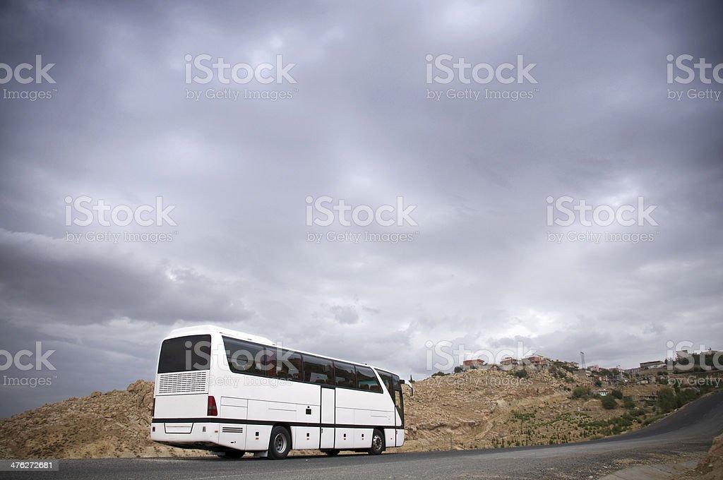 Coach Bus royalty-free stock photo
