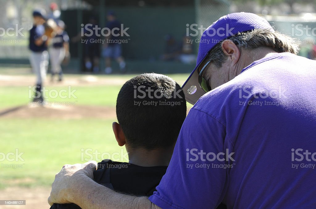 Coach Consoles Player stock photo
