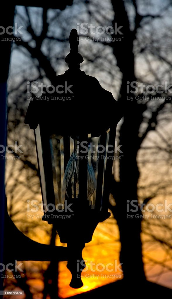 Coach Lantern royalty-free stock photo