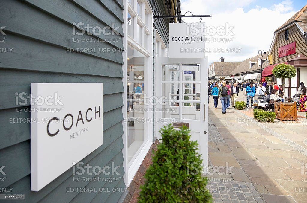 Coach Store... royalty-free stock photo