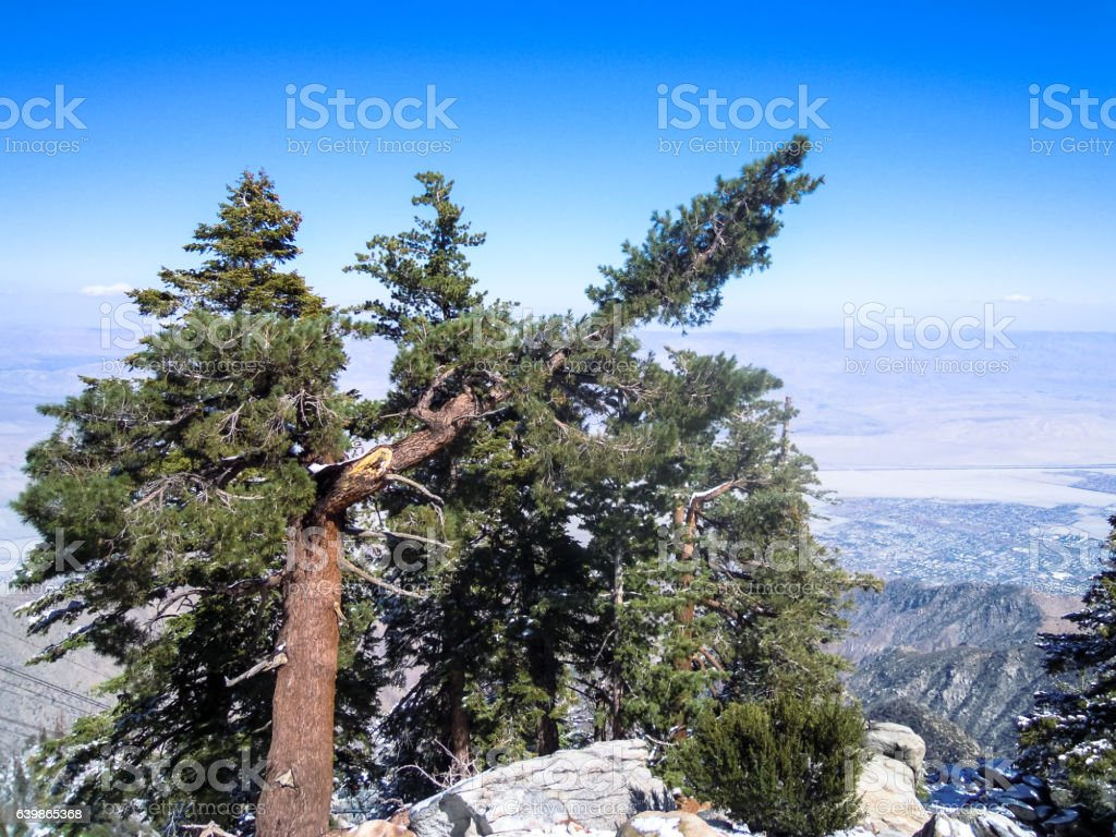Coachella Valley and Palm Springs, California - Stock image stock photo