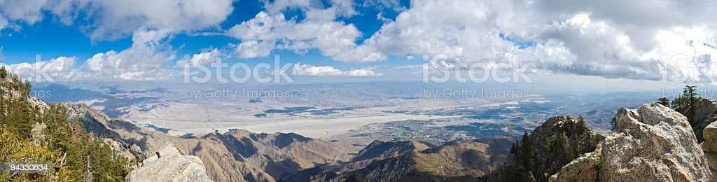 Coachella Valley and Palm Springs stock photo