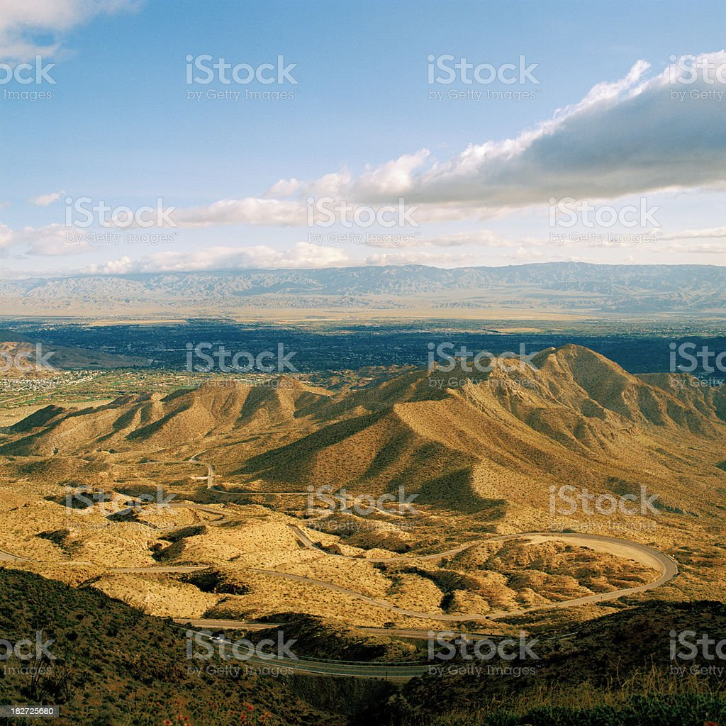 Coachella Valley, California stock photo
