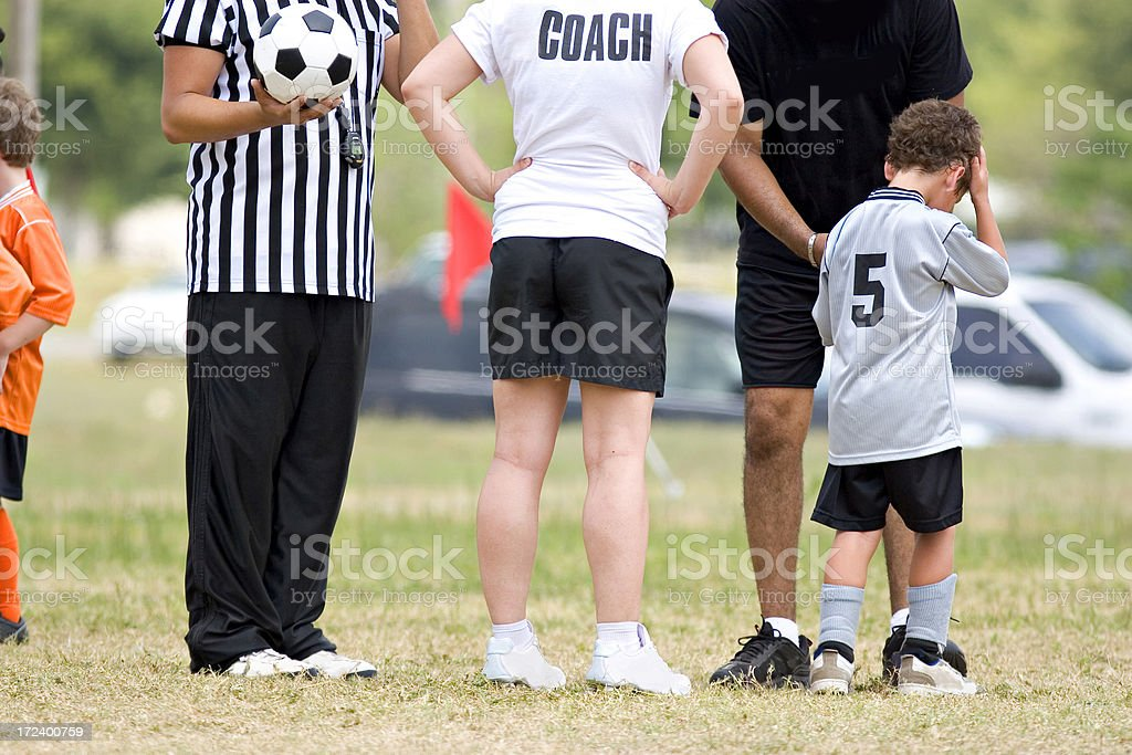 Coaches Conference royalty-free stock photo