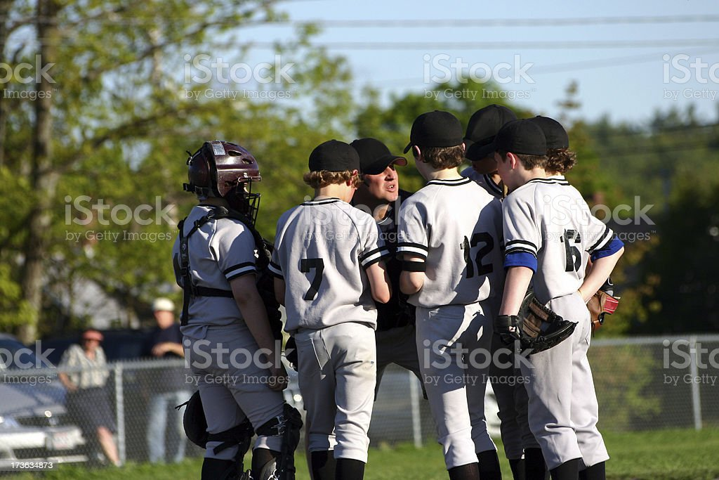 coaches meeting royalty-free stock photo