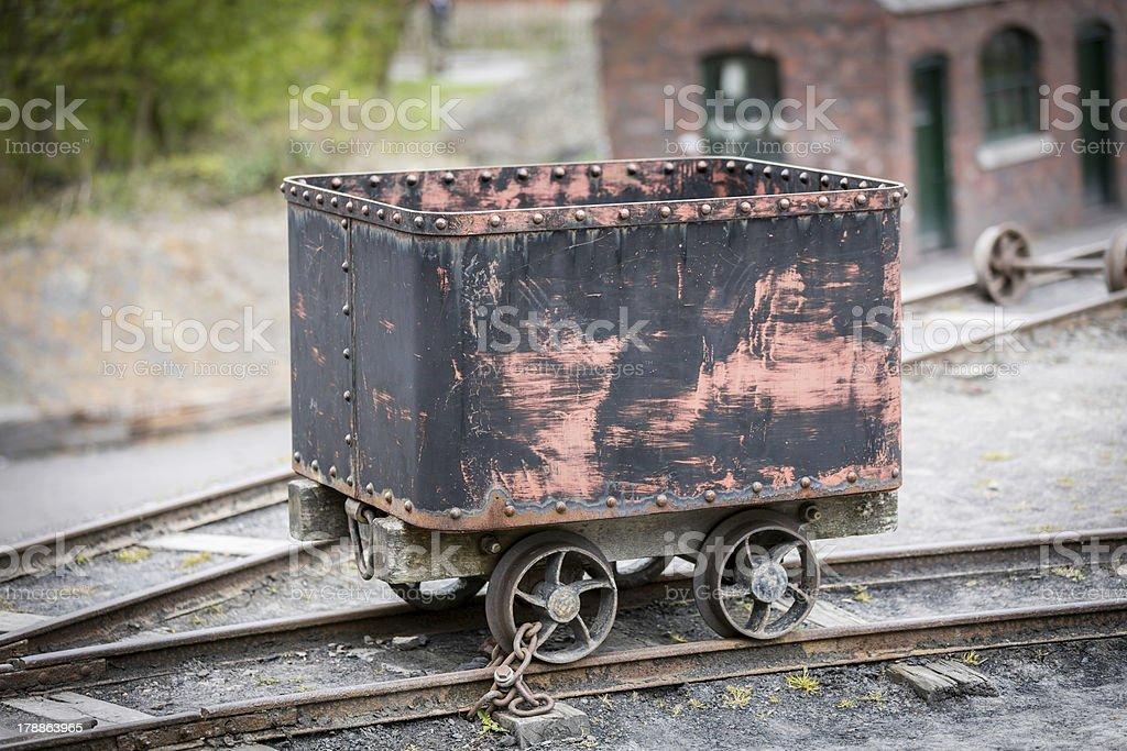 Coal Cart royalty-free stock photo