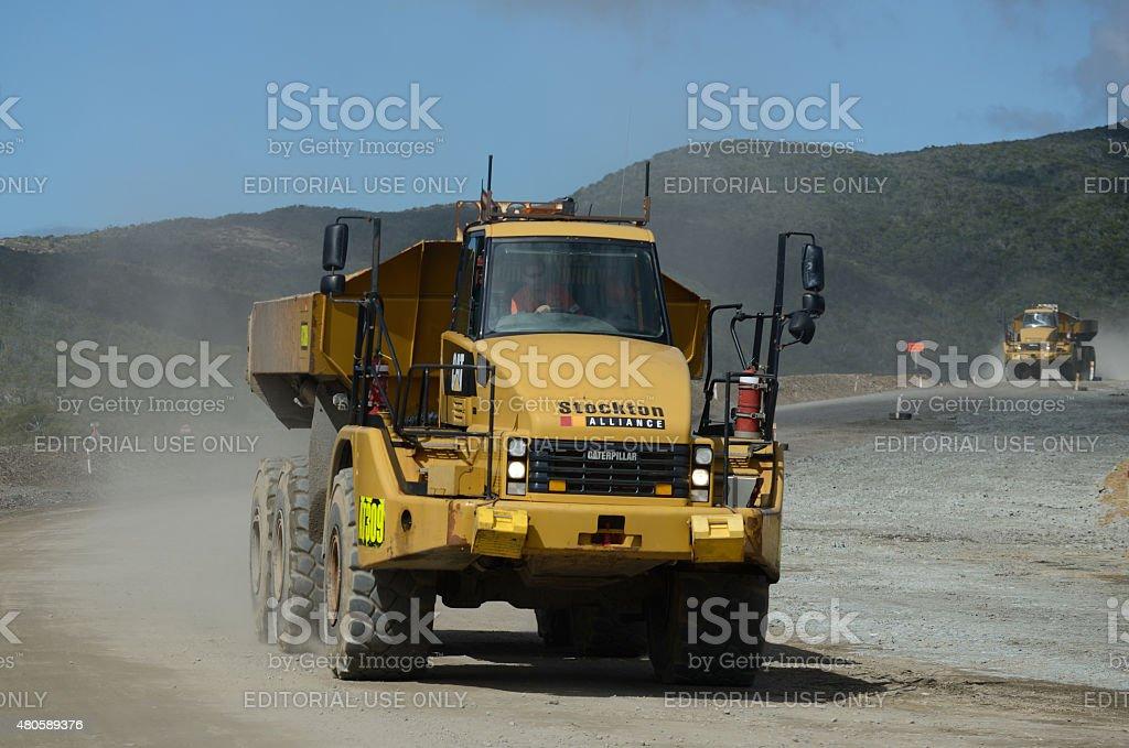 Coal cartage stock photo