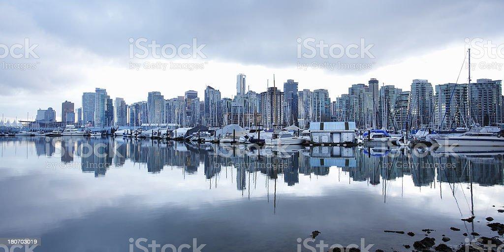 Coal Harbor royalty-free stock photo