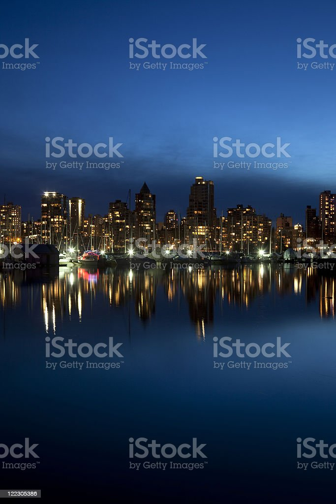Coal Harbour, Vancouver royalty-free stock photo