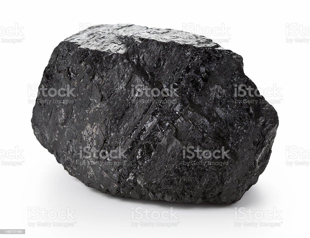 Coal Lump stock photo